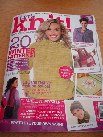 Let's Knit mag