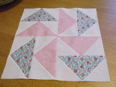 BOM JAN 15 Dutchman's puzzle block