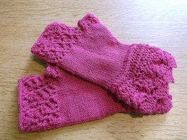 Knit for winter mitts May 1