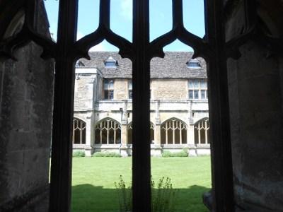 Laycock cloisters 2