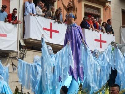 Spain Alcoy 12 parade 2