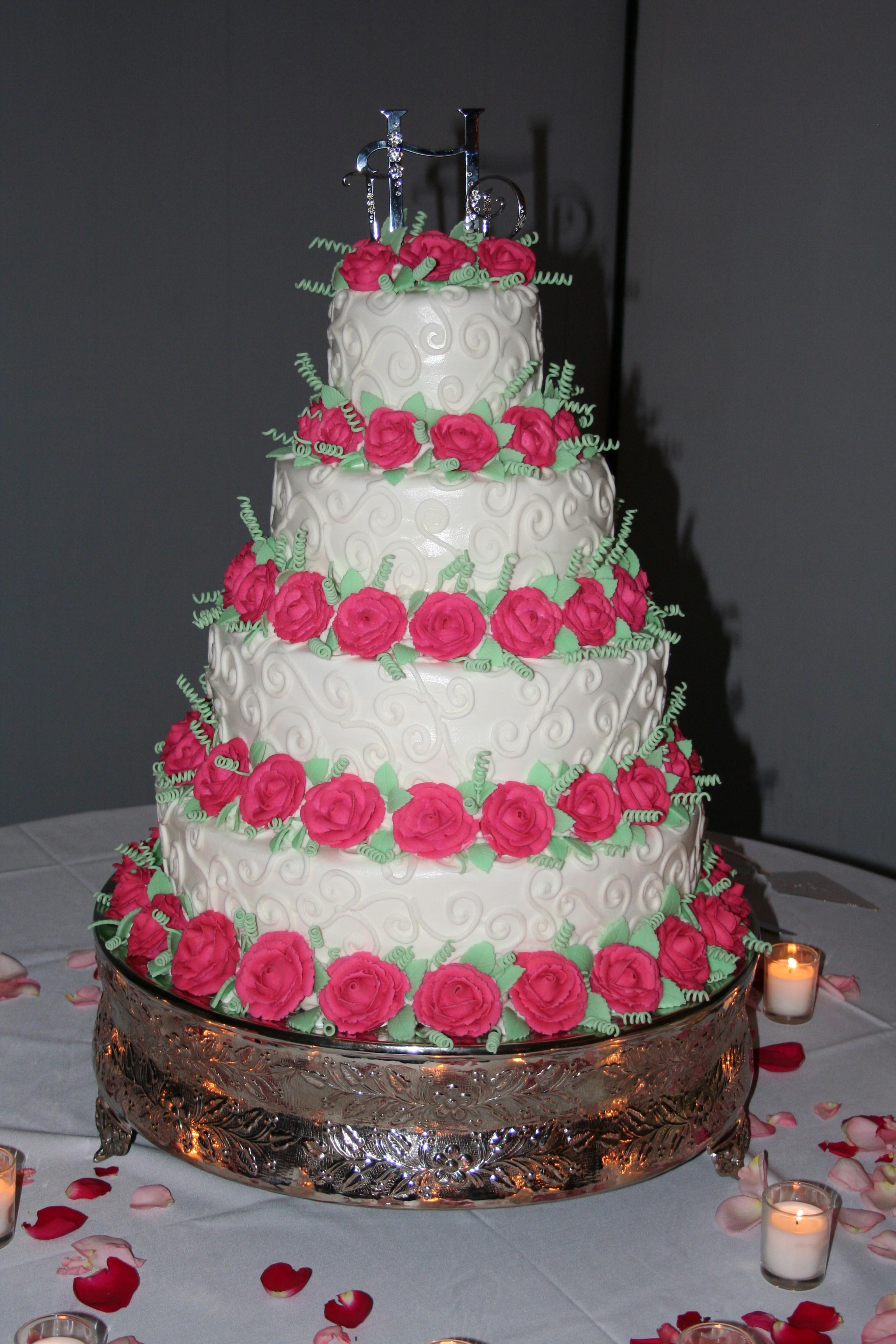 Making My Own Wedding Cake Stitch Fancy