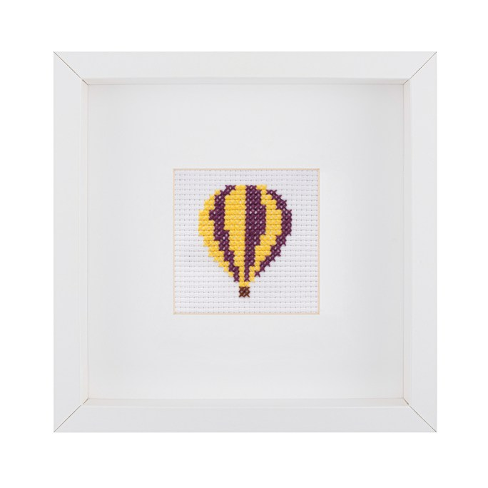 Beginner Hot Air Balloon Cross Stitch Kit | STITCHFINITY