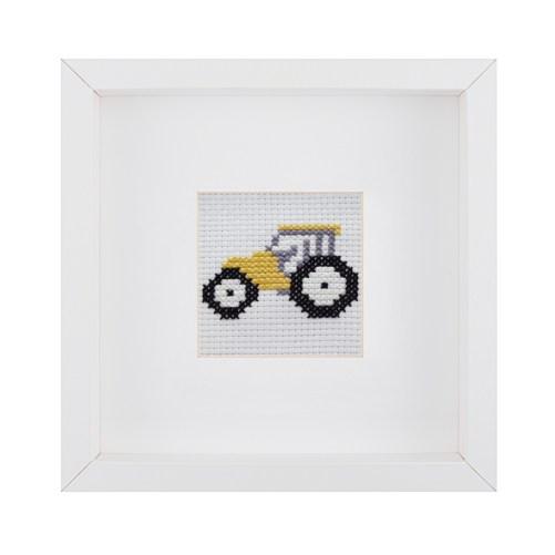 Beginner Tractor Cross Stitch Kit | STITCHFINITY