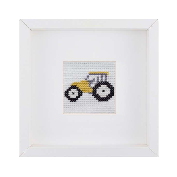 Beginner Tractor Cross Stitch Kit | STITCHFINITY