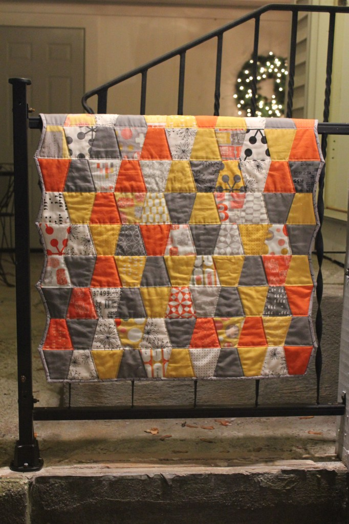 Finished Tumbler Quilt