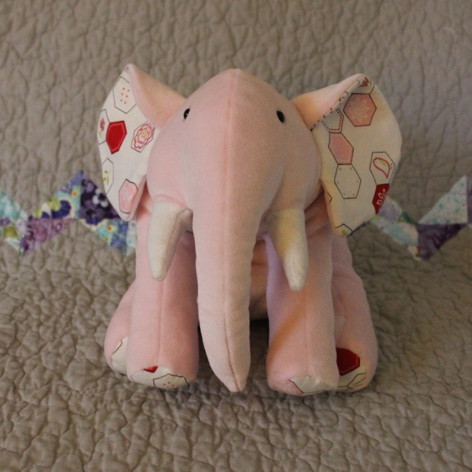 """Ellie Elephant"" in Pink"
