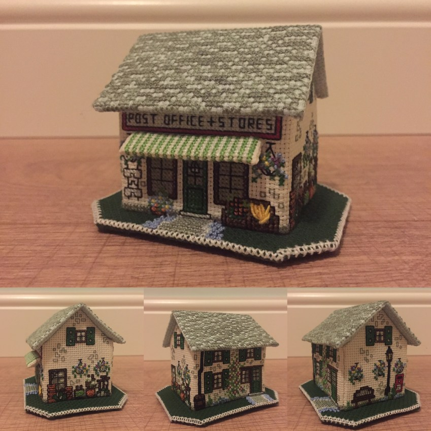'The Village Shop' designed by Meg Evershed for the Nutmeg Company