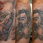 stitchpit-tattoo-hamburg-10124-bear-hunter-neotraditional