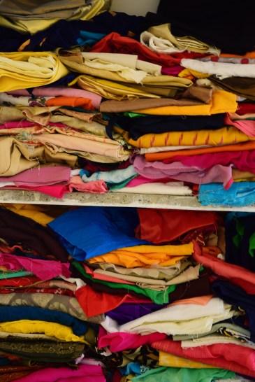 barvy Indie: látky
