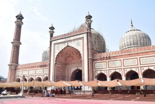 Jama Masjid, největší mešita v Indii, Delhi