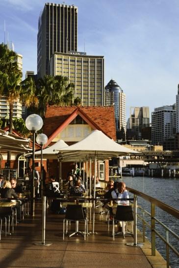 Coffee time in Sydney / čas na kafe a slunění v Sydney