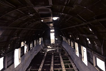 The abandoned DC plane
