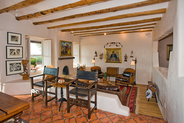 Classic Santa Fe Interior Design   Stivers   Smith Interiors Classic Santa Fe Living Designs