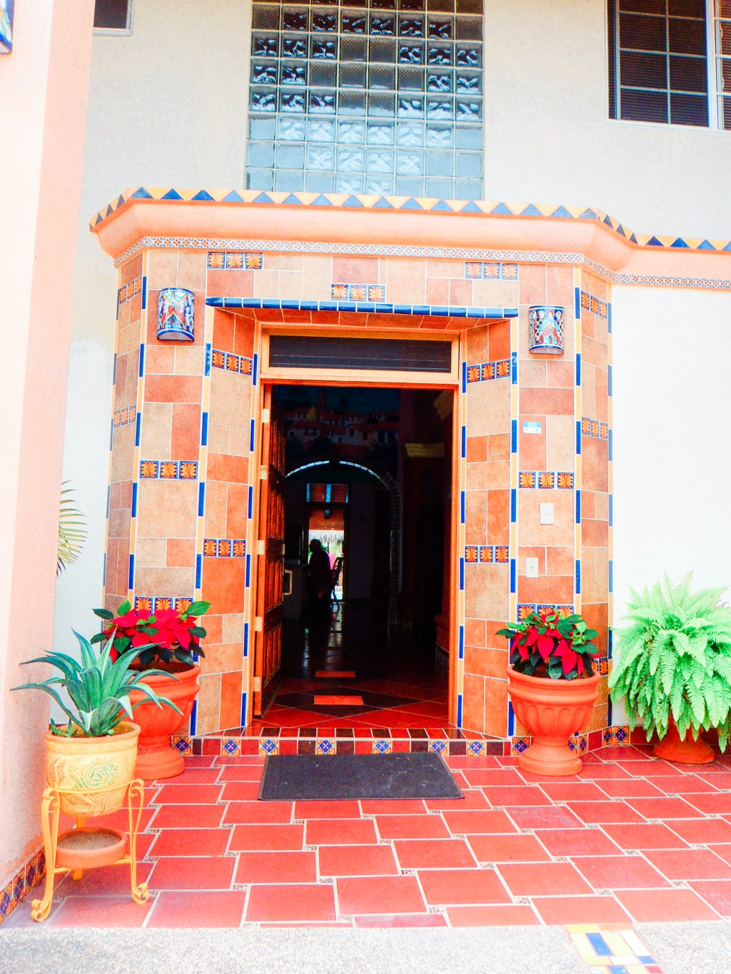 Entrance at Casa Virgilios Bed and Breakfast