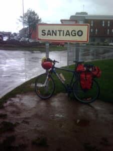 St Jacques à vélo