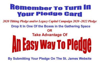 An Easy Way To Pledge – Pledge On-Line