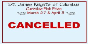 Knights of Columbus Curb Side Fish Fries