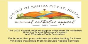 Diocese Annual Catholic Appeal