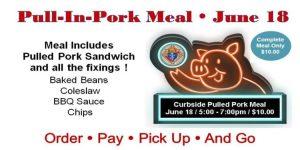 Pull-In-Pork Curbside Meal