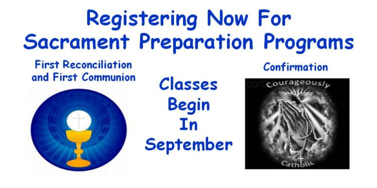 Sacrament Preparation Programs