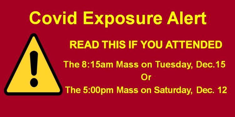 Covid Exposure Alert