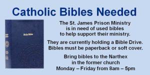 Catholic Bibles Needed