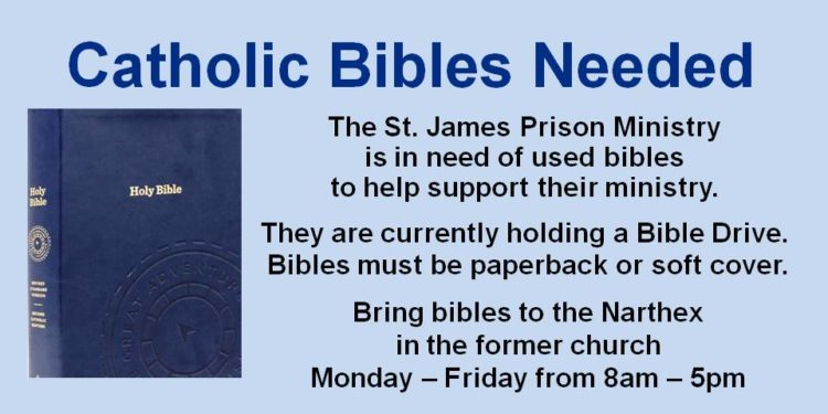 Catholic Bibles Needed