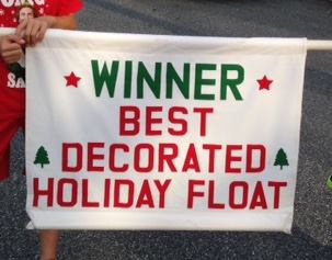 St James Float Wins First Prize