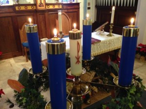 Advent Wreath in Epiphany