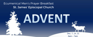 Mens Prayer Breakfast at St. James Episcopal Church