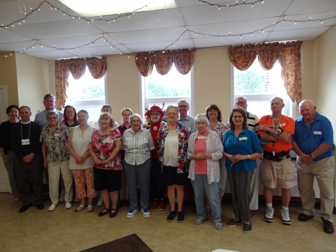 st james thrift shop board staff and volunteers