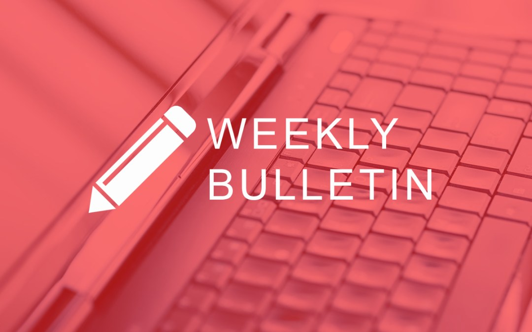 Bulletin & Texts 17th Sept 2017
