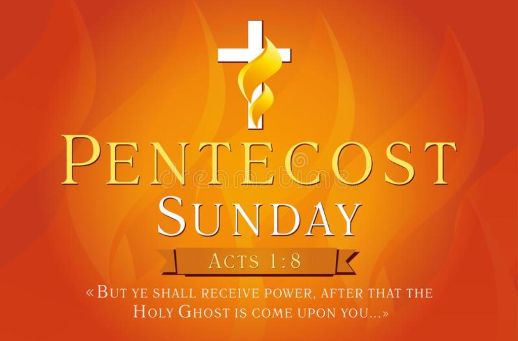 Pentecost Sunday Worship at Home – Eucharist 10am 17th May 2020