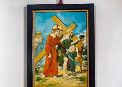 The Cross is laid on Simon of Cyrene