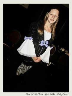 Hailey Weber as the original Alice in ALICE ISN'T ALL THERE