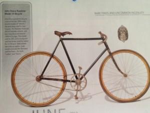 John Deere Model 35 Bicycle.