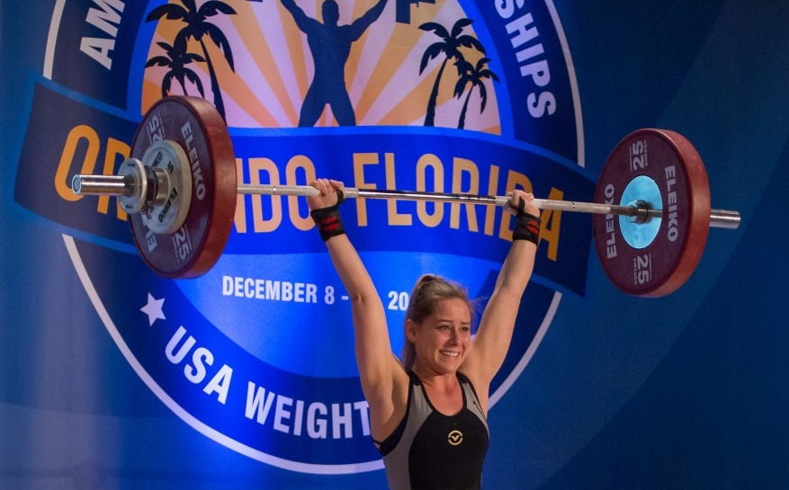 Inspiration in action: St. Joe's Medical Group's Malorie Sutter is a nationally recognized weight lifter