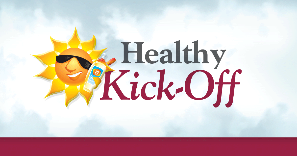 Join Us for our Summer Healthy Kick-Off – May 19