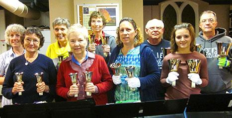 Handbell Choir at St. John's Episcopal