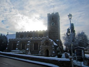 A picture of St Johns in the Winter
