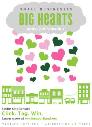 Small Biz Big Hearts campaign poster