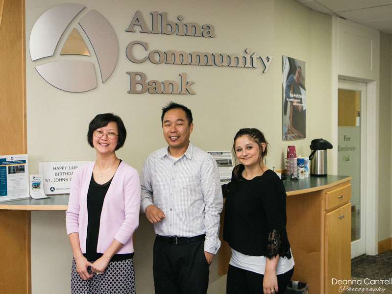 Albina Community Bank staff