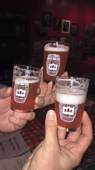 St Johns Beer Fest glasses