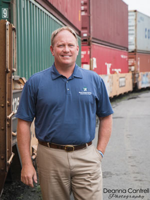Tom Leland at NW Container Services