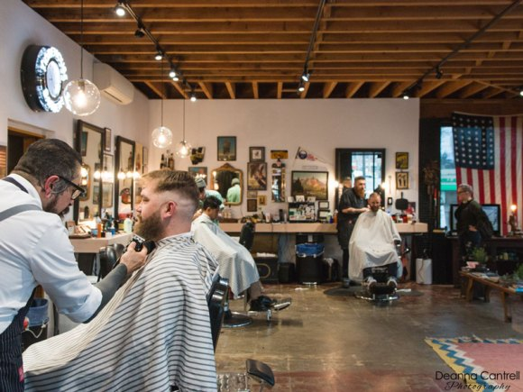 Morehouse Barbers interior