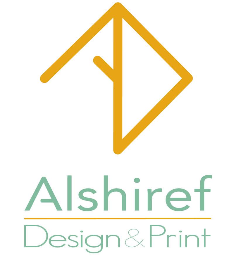 Alshiref Design and Print logo