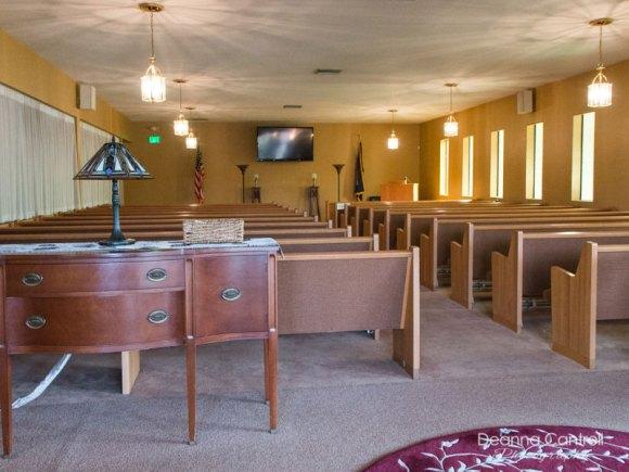 Hustad Funeral Home chapel