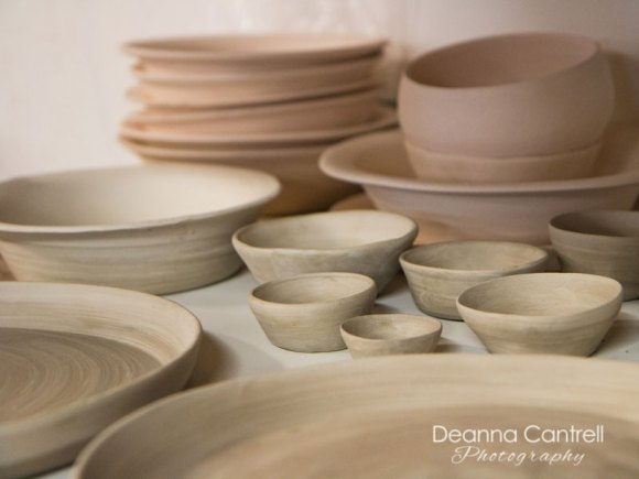 ceramics ready to be fired