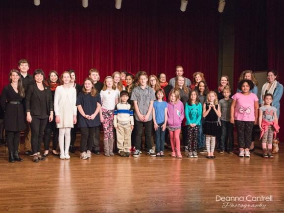 Fall Showcase of students at Cathedral Park Performing Arts